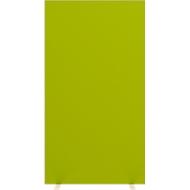 Trennwand Raumtrenner Paperflow, mit Schallschutz-Schaumvlies, B 940 mm, grün