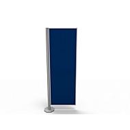 Trennwand, Silent Line Plus, 550 x 1700 mm, blau