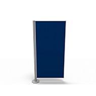 Trennwand, Silent Line Plus, 800 x 1700 mm, blau