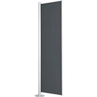 Trennwand, Silent Line Plus, 800 x 2000 mm, dunkelgrau