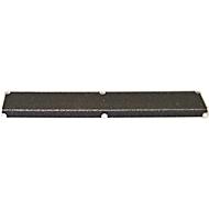 Treppenkantenprofil, 30 x 110 x 660 mm, schwarz
