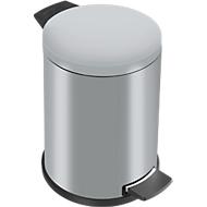 Tretabfalleimer Profi Line Solid 14 Liter, mit Kunststoff Inneneimer, silber