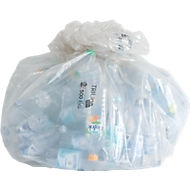 TRILine® sacs poubelles écologiques, pour grand volume, 790 + 660 x 1800 mm, 500 litres, 50 pièces
