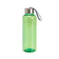 Trinkflasche, Grün, Standard, Auswahl Werbeanbringung optional