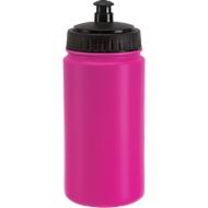 Trinkflasche Tour Guide, Kunststoff, ideal für Sport- und Freizeitaktivitäten, 0,6 L, pink