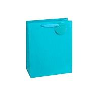 TSI geschenktasje krijtstreep, XXL groot, 26 x 135 x 32 cm, scheurvast, set van 4, blauw