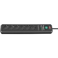 Überspannungsschutz-Steckdosenleiste Secure-Tec 19.500 A 6-fach