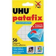UHU patafix Klebepads, transparent, 56 Stück
