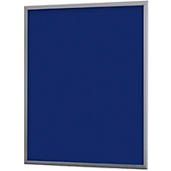 Uithangbord A2, 505 x 15 x 765 mm, blauw