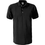 Ultra Cotton Polo, schwarz, M