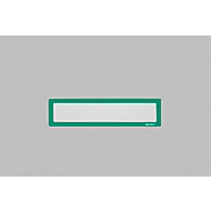 Ultradex Infotasche, magnetisch, für Überschriften, B 225 x H 60 mm, A4, grün