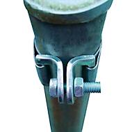 Universal-Schellenband für Befestigungspfosten, verzinkt