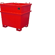 Universele container UC 1000, rood
