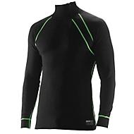 Unterhemd Polo schwarz L
