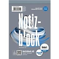 Ursus Notizblock, mikroperforiert, liniert, DIN A6