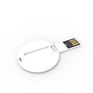 USB Stick Coin Card, in Rundform, inkl. 1-seitigem Vollfarbdruck, 4 GB