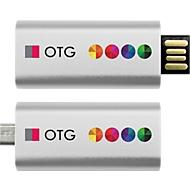 USB-Stick OTG Slide, USB 2.0 und Micro-USB, Speicherkapazität 16 GB