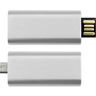 USB-Stick OTG Slide, USB 2.0 und Micro-USB, Speicherkapazität 4 GB