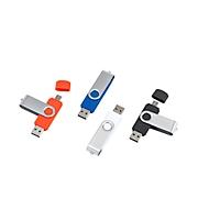 USB-Stick Twist Typ C, Rot, Standard, Auswahl Werbeanbringung optional