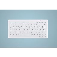 USB Tastatur Active Key AK-C4110F-U1, desinfizierbar, deutsches Notebook-Layout, B 291 X T 139 x H 25 mm, weiß