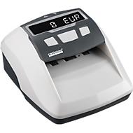 Valsgelddetector ratiotec® Soldi Smart Pro, EZB-standaard, EUR/CHF/GBP, 5-talig, werkt op netstroom of accu, wit