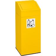 VAR afvalsorteersysteem, inhoud 45 liter, geel
