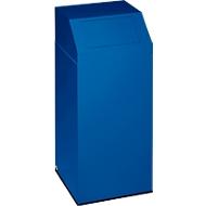 VAR Wertstoffsammler, Inhalt 45 Liter, enzianblau