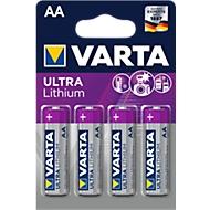 VARTA Batterie PROFESSIONAL LITHIUM, Mignon AA, 1,5 V, 4 Stück