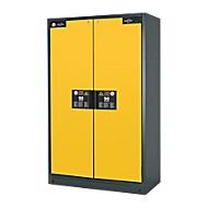 Veiligheidskast type 90, B 1200 mm, 4 uittrekbakken, veiligheid: