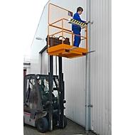 Veiligheidskooi SIKO, L 1115 x B 1200 x H 1890 mm, oranje