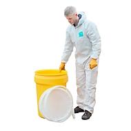 Veiligheidsvat, met klikdekselvergrendeling, UN-certificaat, inhoud 114 l, Gewicht 6 kg