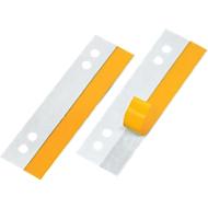 Veloflex Bandes de renfort pour documents perforés de 105 mm, paquet de 50 pièces