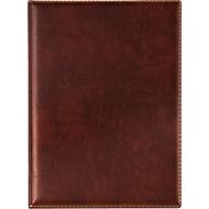 VELOFLEX Dokumentenmappe Exquisit, DIN A4, Leder, braun