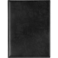 VELOFLEX Dokumentenmappe Exquisit, DIN A4, Leder, schwarz