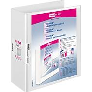 VELOFLEX presentatiemap VELODUR, A4, 80 mm, karton PP