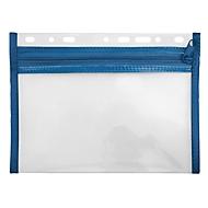 Veloflex Reißverschlusstasche Velobag XXS, Format DIN A5, blau