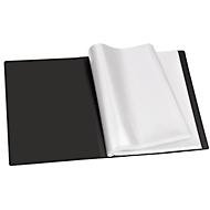 VELOFLEX Sichtbuch Diamond, für DIN A3, 30 Sichthüllen, schwarz