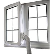 Vensterkit afzuiging, voor vensters tot 4 m, waterafstotend, wasbaar tot 40°, incl. klittenband, polyester, wit