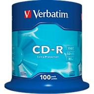Verbatim CD-R, tot 52x, 100/spindel