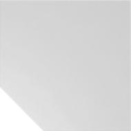 Verbindingsplaat TARA, trapezium, B 1200 x D 1200 mm, lichtgrijs