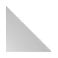 Verkettungselement TOPAS LINE, für manuell höheneinstellbare Schreibtische, Eckwinkel 90°, lichtgrau