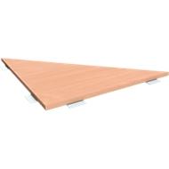 Verkettungsplatte 90° ALICANTE,  B 800 x T 800 mm, Buche-Dekor
