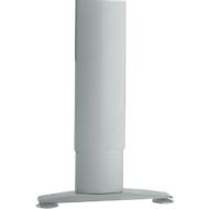 Verkorte poot LOGIN, rechthoek-poot, voor C-poot bureautafel LOGIN, 2 stuks