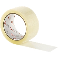 Verpakkingstape Qtape® 222, transparant, 6 rollen