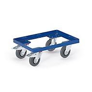 Verrijdbaar onderstel voor eurokratten, 610 x 410 mm tot 250 kg