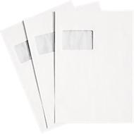 Versandtaschen, Fenster, haftklebend, 90 g/qm, DIN C4, 250 Stück, chlorfrei-weiß