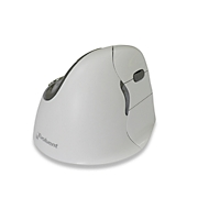 Verticale muis Evoluent4 Right Hand White bluetooth, muis met 5 knoppen scrollwiel, draadloos
