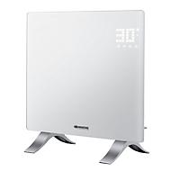 Verwarmingstoestel VIDRO 1000, vermogen 1000 W, IP24, touch-aansturing & afstandsbediening, B 515 x D 185 x H 570 mm, wit