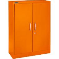Vleugeldeurkast MS iCOLOUR, staal, 3 ordnerhoogten, b 950 mm, oranje RAL 2004