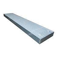 Vloerbeschermingsbak type BSW 125, berijdbaar, gegalvaniseerd